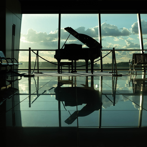 Piano d'ambiance espace
