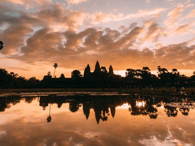 Angkor Wat Sunrise2