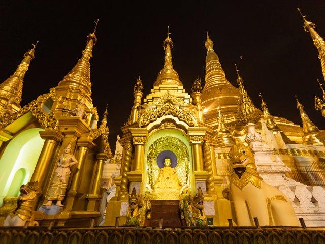 Pagode de Myanmar