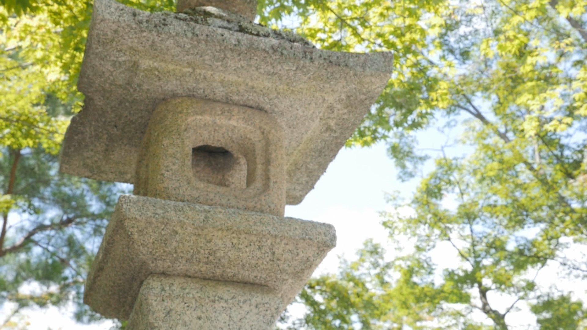 Statue de pierre