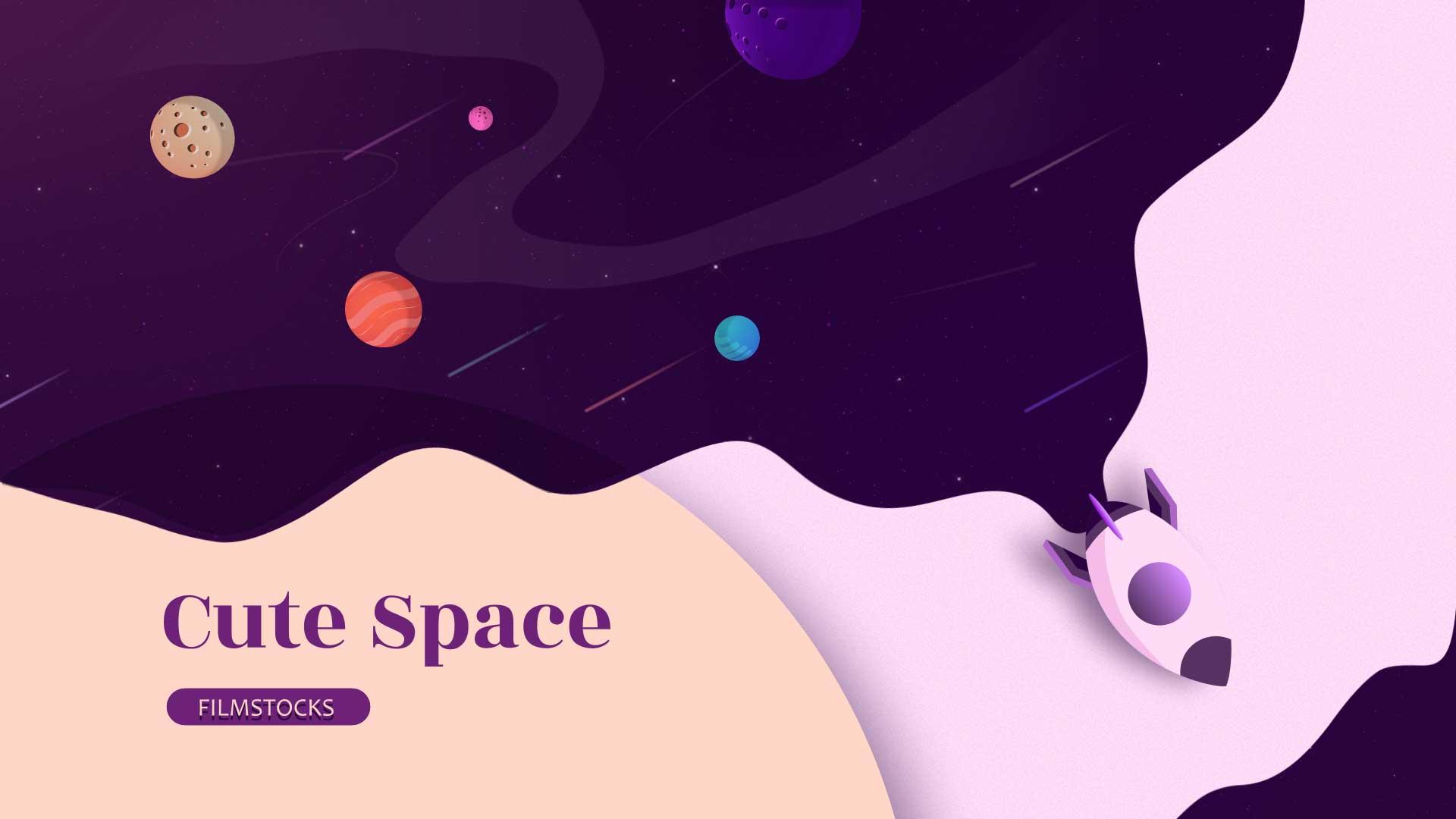 cute space