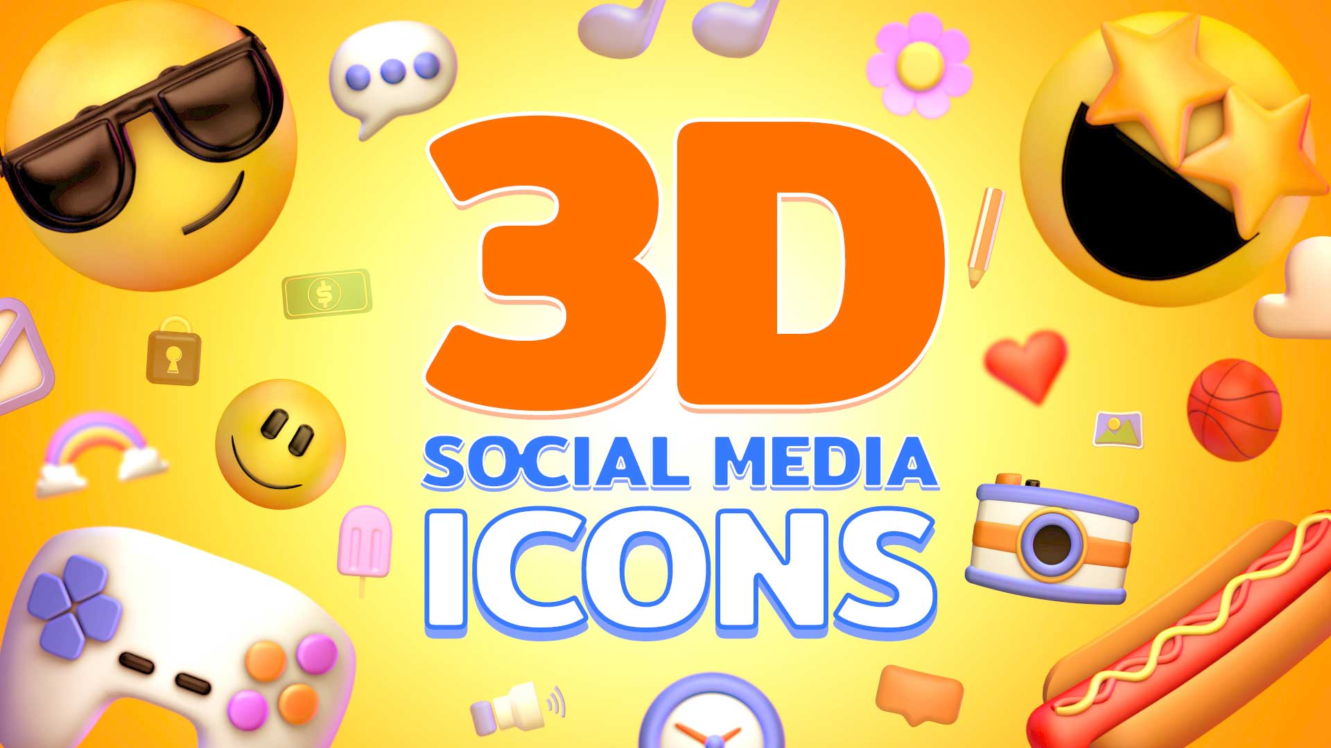 icon media sociale