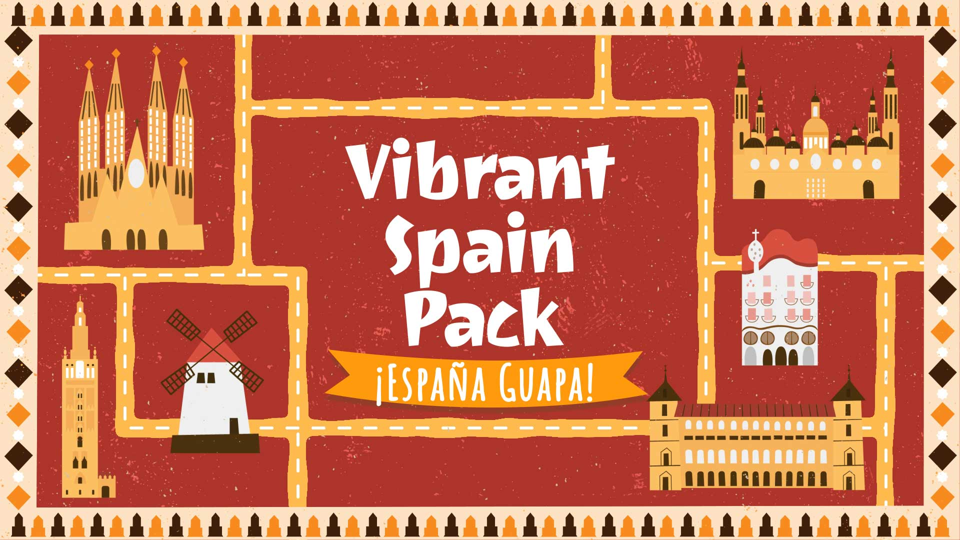 Vibrant Spain Pack