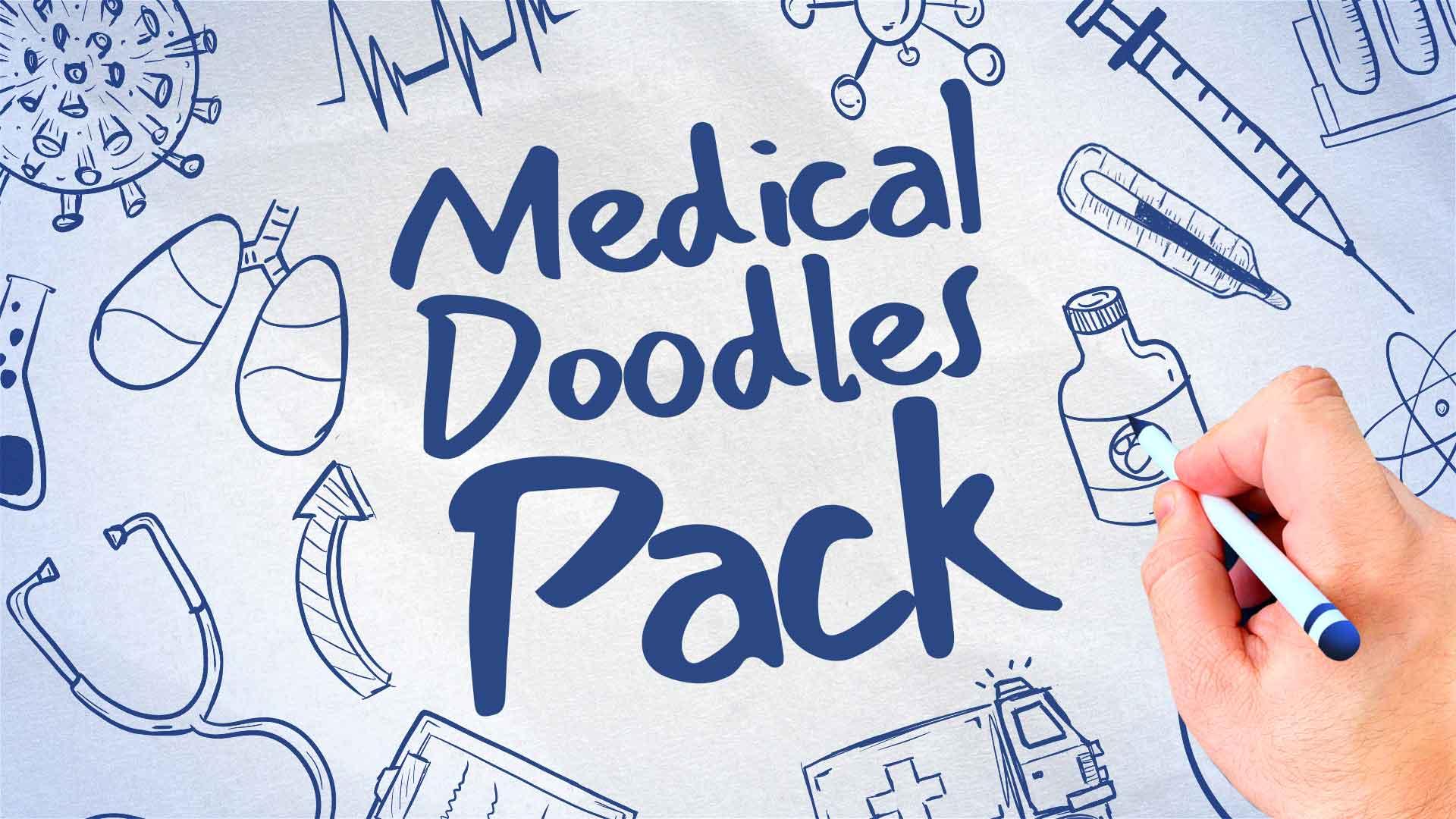Medical Doodles Pack