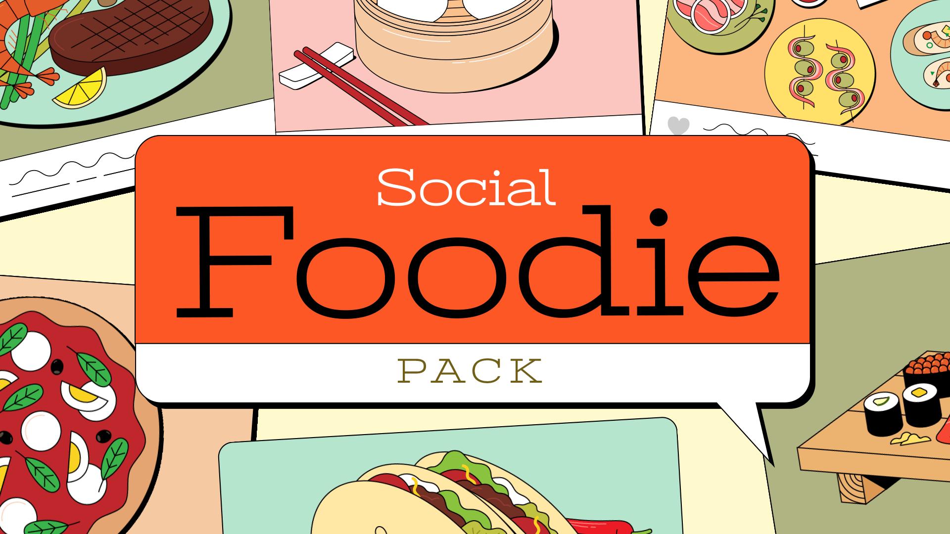 Socail Foodie Pack