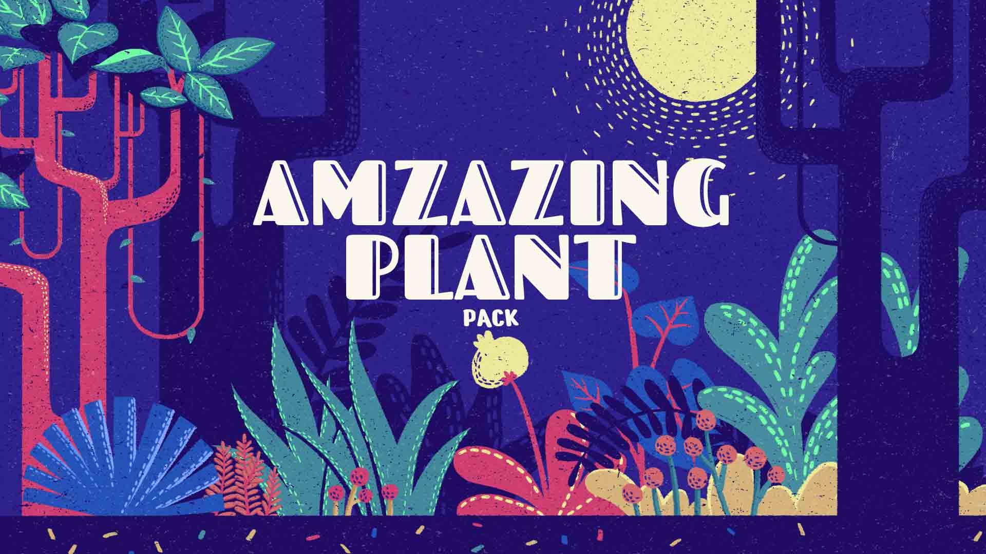 Pacote de Plantas Incrível